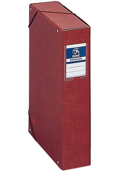 Dohe- Caja proyectos lomo, 7 cm, cuero, Color (9573): Amazon.es ...