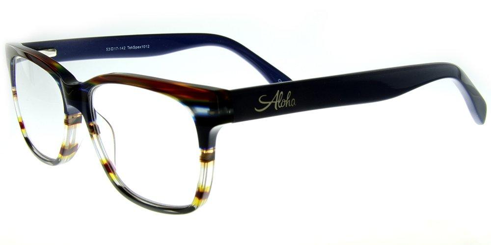c911517253 Amazon.com  Aloha Eyewear Tek Spex 1012 Unisex RX-Able Reader Glasses Sunglasses  with Progressive Photochromic Lens (Blue +2.50)  Health   Personal Care