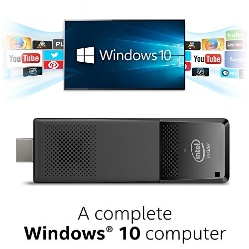 Intel Graphics Card (Intel Compute Stick CS125 Computer with Intel Atom x5 processor and Windows 10 (BOXSTK1AW32SCR))