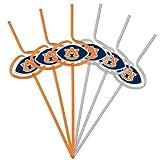 NCAA Auburn Tigers Six Pack Team Sip Sport Straws