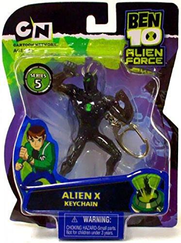 Basic Fun Ben 10 Alien Force Series 5 Alien X Keychain