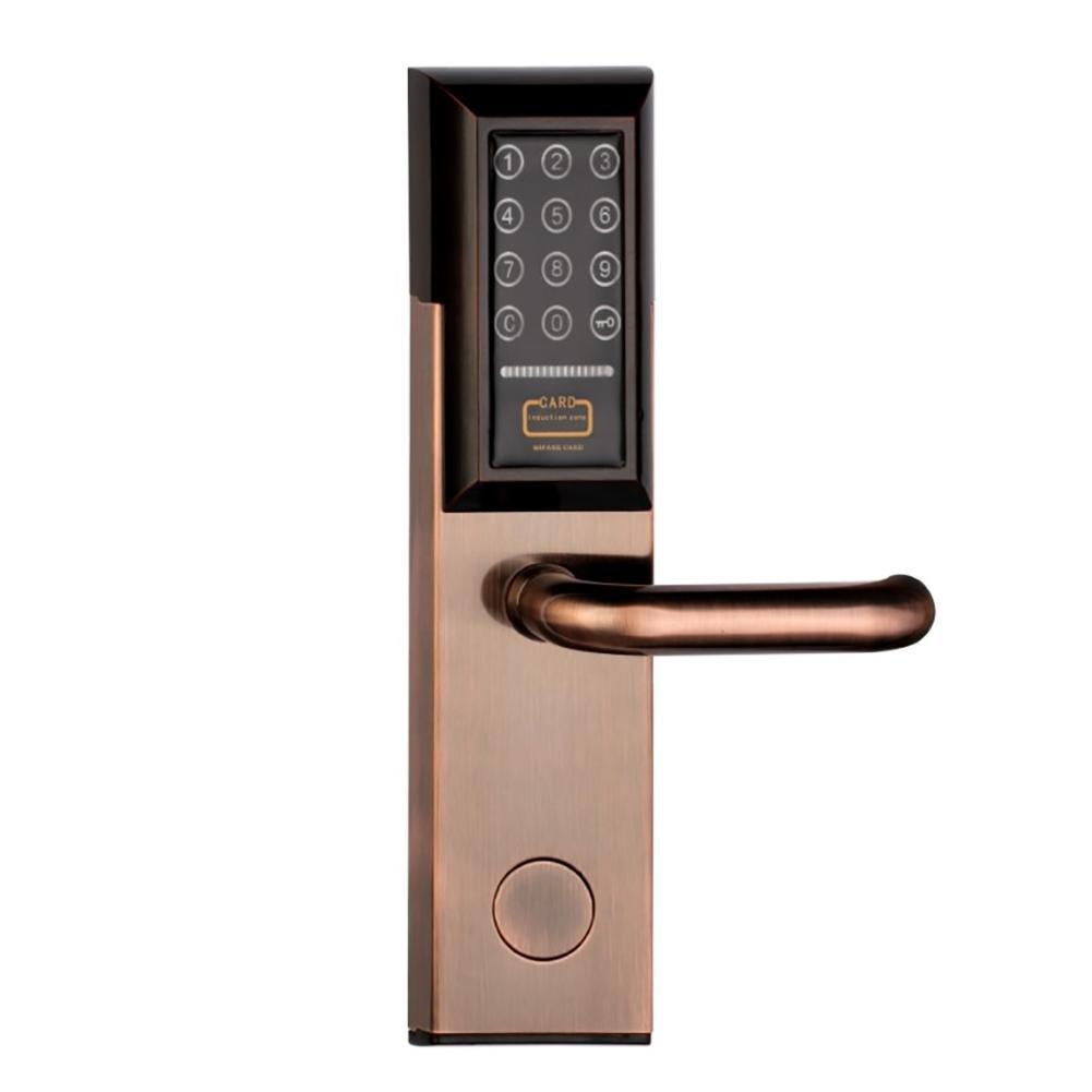 TDJDYQ Acier inoxydable Électronique Intelligent Mot de passe Serrure à induction Entrée sans clé Mot de passe-