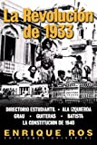 La Revolución de 1933 en Cuba, Enrique Ros, 1593880472