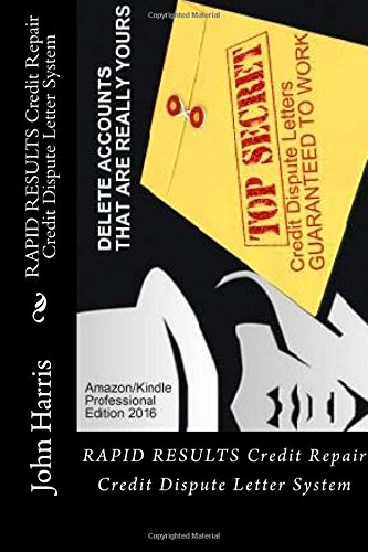 RESULTS Credit Repair Dispute Letter product image