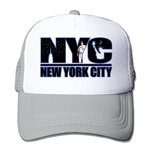 Custom Adjustable Two-toned New York Baseball Dancing Cap Hat Ash