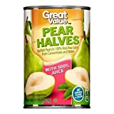 Expect More Great Value Pear in 100% Juice, 6 ct. / 90 Fl Oz