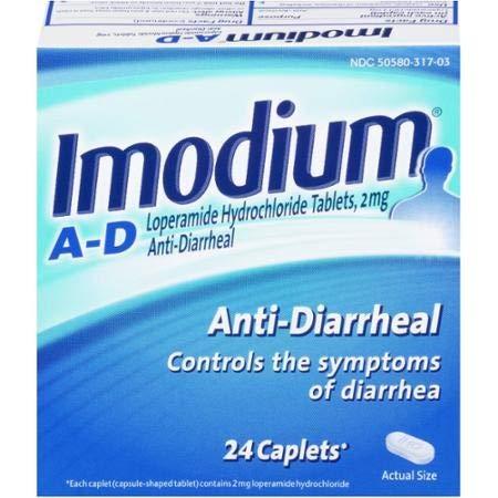 Imodium Anti-Diarrheal Caplets (Pack of 16)