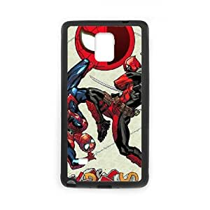 Deadpool Samsung Galaxy Note 4 Cell Phone Case Black gift pp001_6311004