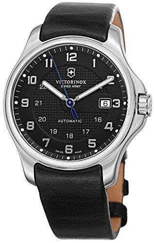 Victorinox Swiss Army Officer's Men's Black Dial Black - Swiss Army Watch Automatic