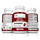 Blood Builder Iron Booster Supplement - Helps Boost Red Blood Cell Production, Anemia
