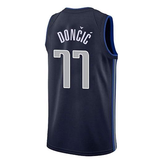 CHXY NBA Camiseta De Baloncesto Luka-Doncic # 77 para Hombre - NBA ...