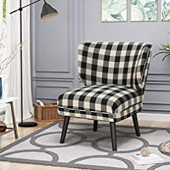 Farmhouse Accent Chairs Modern Farmhouse Accent Chair by Knight Home – Purple Floral Black Blue Multi Color Plaid Contemporary Traditional… farmhouse accent chairs