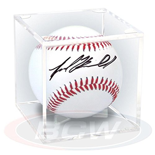 UV Protected (98%) - Grandstand Baseball Holder Display - Made in the (Ballqube Baseball Holder)