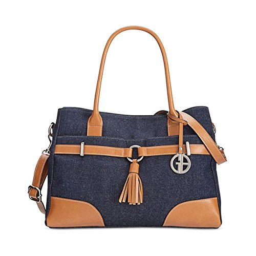 Denim Hand Bernini Stylish Giani Fashionable Comfortable Bag And Purse S Womens zWSccRA