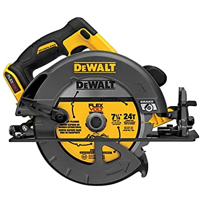 Right side blade vs left side blade circular saws tool talk dewalt dcs575b flexvolt 60v max bare tool brushless circular saw greentooth Image collections