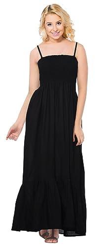 La Leela rayon regolare tutto in 1 costume da bagno promenade signore vacanze casuali sera prendisole tunica a fascia piana gala di occultamento del bikini loungewear vestito delle donne gonna nera