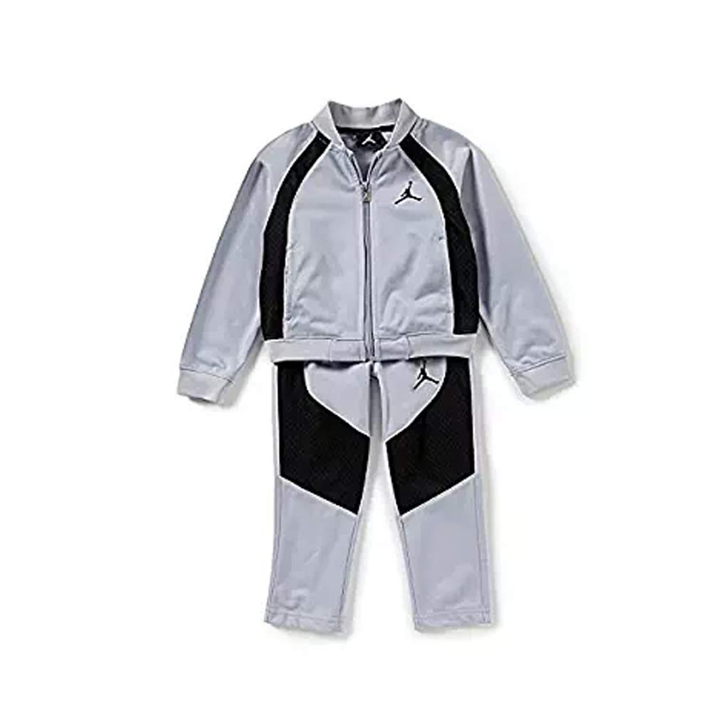 Jordan Nike Air Little Boy's Tricot Tracksuit Jacket & Pants Set Size 7 by Jordan