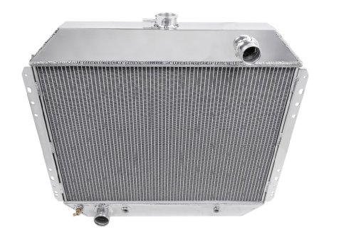 Champion Cooling, 4 Row All Aluminum Radiator for Ford Bronco, (1973 Ford F-250 Pickup)