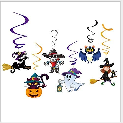 Outdoor Halloween Banner Hanging Decoration Pumpkin Skull Bat Witch Pattern UK