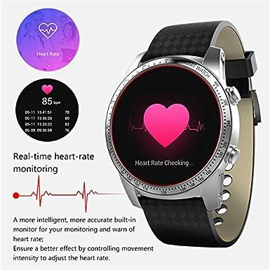 Yuan Line Smart Reloj K99 kw99 Smart Reloj Teléfono Móvil 1,39 Pulgadas Android 5.1 mtk6580 Smart Quad Core 8 GB 1,3 GHz 3 G para iOS Android