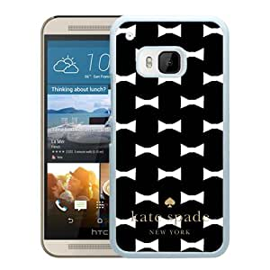 Kate Spade Black 040 HTC ONE M9 Screen Cellphone Case Genuine and Grace Design