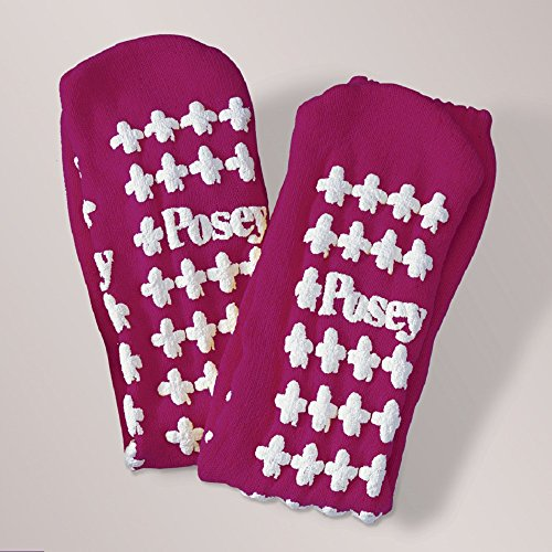 (Posey Fall Management Socks, Purple - Large - 1 Pair)