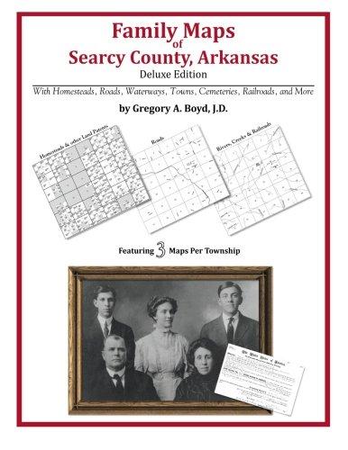 Family Maps of Searcy County, Arkansas