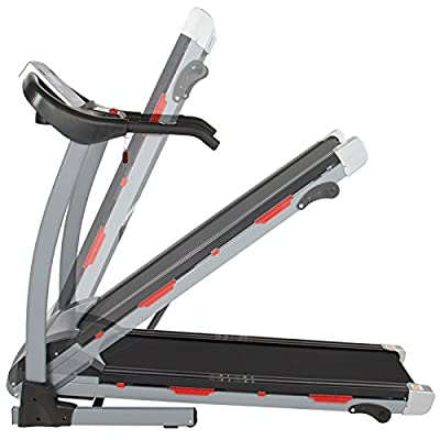 Eight24hours Deluxe Folding Electric Treadmill Portable Motorized Running Exercise Machine
