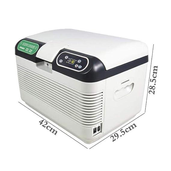 ZY Car refrigerator Refrigerador portátil de auto-12l de Doble ...