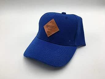 Curved Baseball & Snapback Hat cap blue