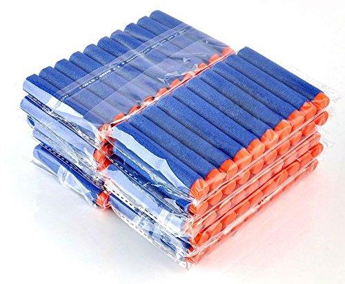 100 Pcs 7.2cm Refill Foam Darts For Elite Series Blasters bullets by Unknown