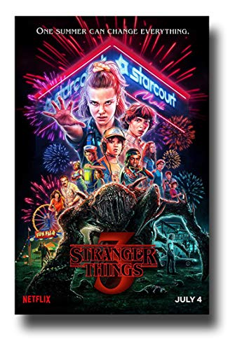 Stranger Things 3 Poster TV Show Promo 11 x 17 inches Neon One Summer Can Change Everything
