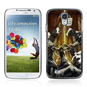 Designer Depo Hard Protection Case for Samsung Galaxy S4 / Cows In Barn by icecream design