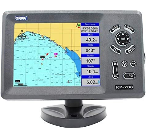 Plotter Cartográfico con GPS ONWA KP-708A: Amazon.es: Electrónica