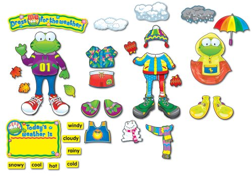 (Carson Dellosa Weather Frog Bulletin Board Set (110079))