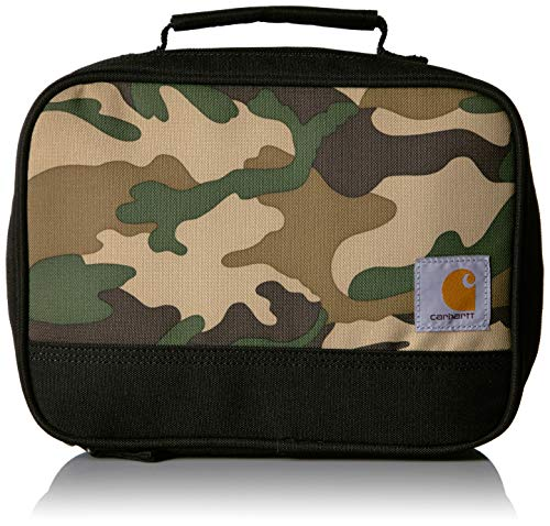 Carhartt Insulated Soft-Sided Lunchbox, Camo Print (Box Lunch Camo Insulated)