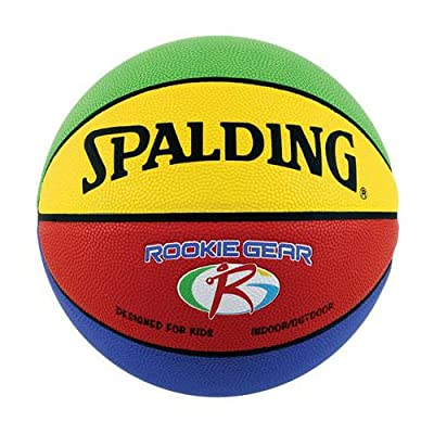Spalding Rookie Equipment Indoor/Out of doors Composite 27.5 Youth Basketball