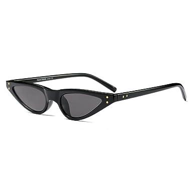 565f2211e9 MINCL 2018 Hot Sale Sexy Fashion Cateye Sunglasses PC Small Vintage Summer  Style Designer UV400 (black)  Amazon.co.uk  Clothing