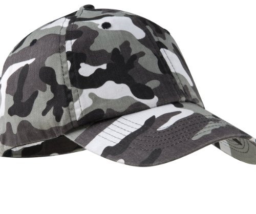 (Port Authority Camouflage Cap - Winter Camo C851 OS)
