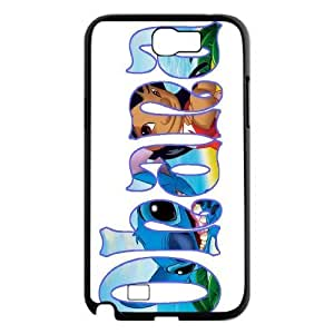 Custom High Quality WUCHAOGUI Phone case Lilo & Stitch - Ohana Means Family Protective Case For Samsung Galaxy Note 2 Case - Case-13