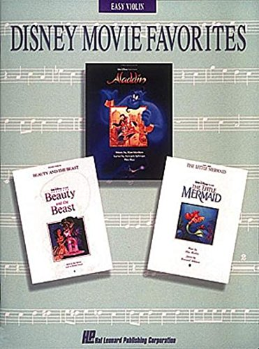 Disney Movie Favorites: Easy Violin Instrumental Solos (Easy Play -