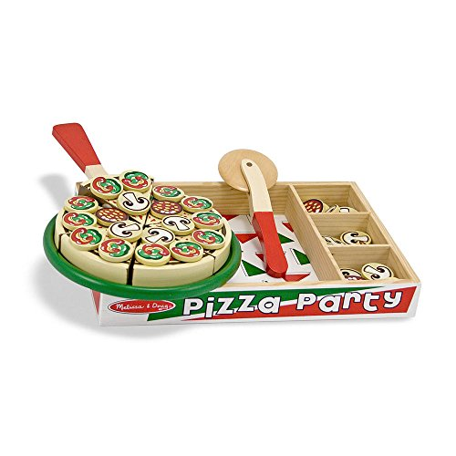 Melissa Doug Pizza Wooden Toppings product image