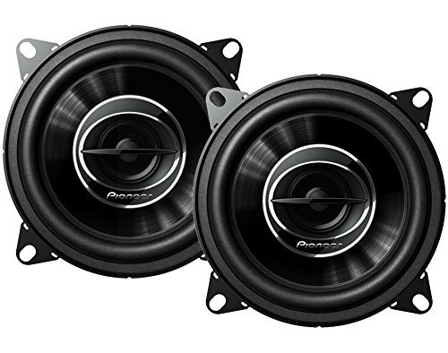 Pioneer TS-G1045R Dual Cone 4-Inch 210 W 2-Way Speakers-Set of 2 (Speaker Pioneer Wire)