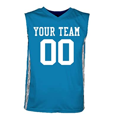 Clothing, Shoes & Accessories Custom Reversible Basketball Jersey With Names & Numbers On Both Sides