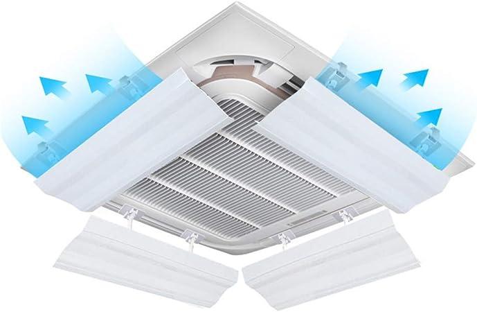 Deflector de aire acondicionado central ajustable, sin instalación de perforación Deflector de aire acondicionado a prueba de viento Deflector de aire universal Deflector de aire acondicionado: Amazon.es: Hogar