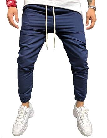 Dilicwa Pantalones de chándal Slim fit Joggers Causal Chándal ...