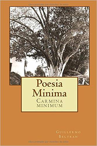 Poesia Minima: Carmina minimum