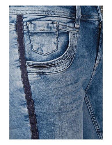 Heavy Bleu Femme Street Slim Wash One 11401 Jean Blue wIqIgxYRt
