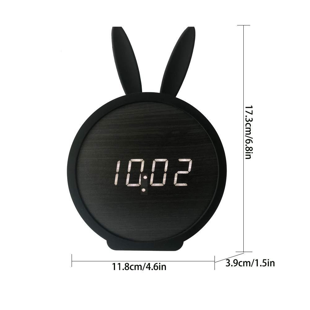 Amazon.com: Justup - Reloj despertador digital para niños ...