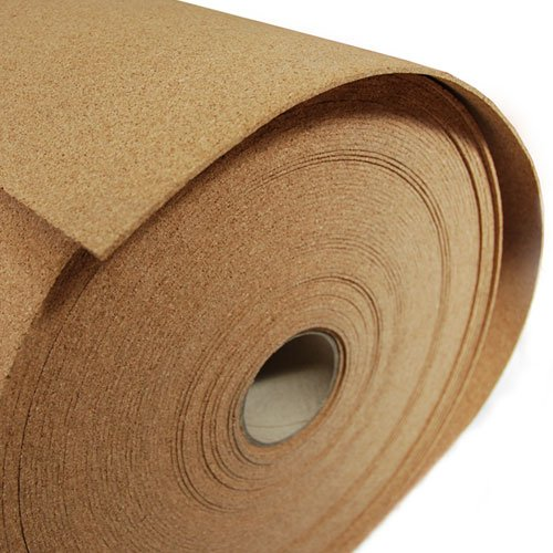 Fine Grain Cork - 1/8'' Thick X 48'' Wide X 60' Long by The Felt Store